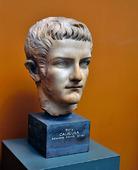 Byst av Caligula, Romersk Kejsare