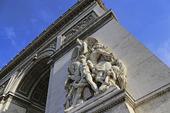 Triumfbågen i Paris, Frankrike