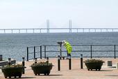 Utsikt vid Öresundsbron, Skåne