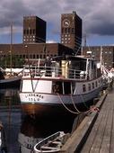 Gamla hamnen i Oslo, Norge