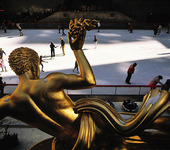 Rockefeller Plaza i New York, USA
