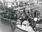 Arbetare från Götaverken, Göteborg 1940-talet