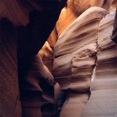 Antelope Canyon i Arizona, USA