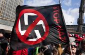 Demonstration mot nazister