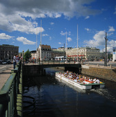Paddan i vallgraven, Göteborg