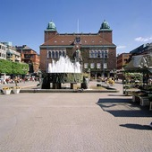 Stora Torget i Borås, Västergötland