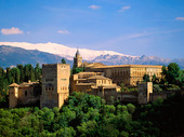 Palace Alhambra, Spanien
