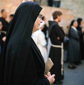 Nunnor i Jerusalem, Israel