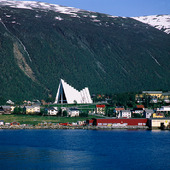 Ishavsdomen i Tromsö, Norge