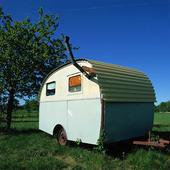 Äldre husvagn