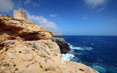 Klippig kust, Malta