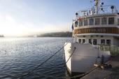 Fartyget Riddarholmen i Stockholm