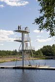 Karlsundsbadet i Bollnäs, Hälsingland