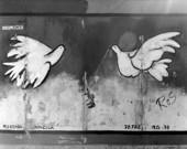 Fredsduvor på Berlinmuren, Tyskland