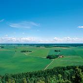 Utsikt från Hunneberg, Västergötland