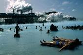 Bad i varm källa, Island