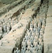 Terrakottaarmén i Xian, Kina