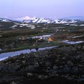 Tältläger, Lappland
