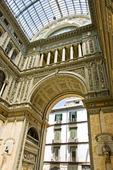Galleria Vittorio Emanuele i Neapel