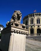 Stortinget i Oslo, Norge