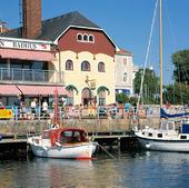 Södra hamnen i Strömstad