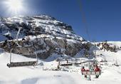 Skidliftar i Dolomiti, Italien