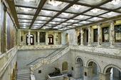 Interiör Massachusetts Statehouse i Boston