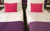 Två sängar