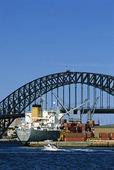 Hamnen i Sydney, Australien