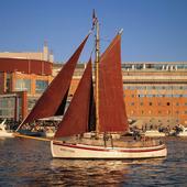 Segelbåtar i Göteborgs hamn