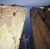Korintkanalen, Grekland