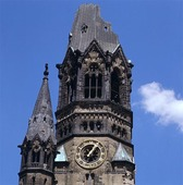 Gedächniskirche i Berlin, Tyskland