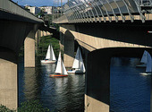 Segelbåtar, Stockholm