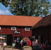 Café i Hjo, Västergötland