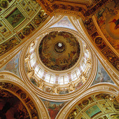 Isakkatedralen i St Petersburg, Ryssland
