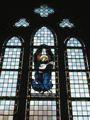 Kyrkfönster i Nicolai-kyrkan, Örebro