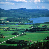 Landskapsvy, Hälsingland