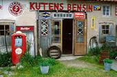 Kutens bensin och café på Fårö, Gotland