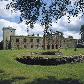 Gräfsnäs slottsruin, Västergötland