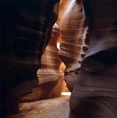 Antelope Canyon i Arizona, USA