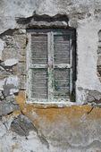 Fönster i Grekland