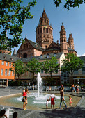 St. Martin's Cathedral in Maintz, Germany