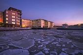 Lindholmen, Göteborg vinter