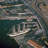 Lilla Bommen i Göteborgs hamn, 60-talet