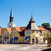 Gamla torget i Tidaholm, Västergötland