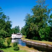 Göta Kanal vid Forsvik, Västergötland