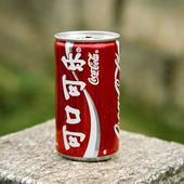 Coca Cola burk, Kina