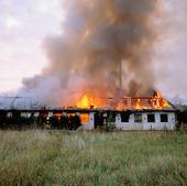Brand i industrifastighet