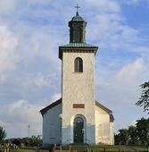 Släp kyrka, Halland
