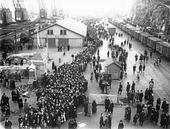 Kö till Gripsholm i Göteborg, 1925